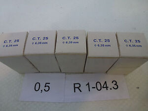 Atoms Stellwiderst nde C T 25 0 1 4in In 5er pack Unused Boxed