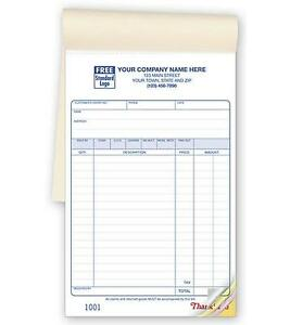 500 Multi purpose Sales Forms 10 Books 5 5 X 8 5 Nebs deluxe 55 3 Part
