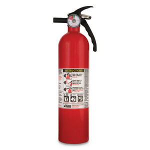 2 5lb Fire Extinguisher Multi Purpose Dry Chemical Abc Disposable Protection