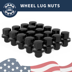 20 Black 14x1 5 Mag Seat Lug Nuts For Land Rover Range Rover Factory Wheels Rims