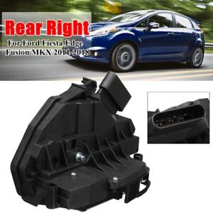 Rear Right Passenger Door Lock Latch Actuator For Ford Fusion Fiesta Edge Mkx Us