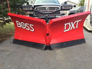 Demo Boss 8 2 Dxt V blade Rt3 Snowplow V blade Sl3 Led Lights Smartlock Plow