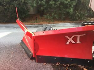 Demo Boss 5 6 V xt V blade Atv Snowplow Rt3 Vxt Honda Polaris Yamaha Snow Plow