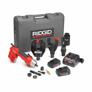 Ridgid 52093 Re 6 Electrical Tool Cut Crimp Punch Kit
