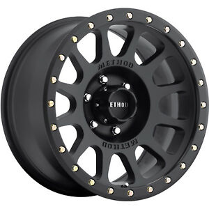 18x9 Black Method Nv Wheels 8x6 5 18 Chevrolet Silverado 2500 Suburban 2500 Hd
