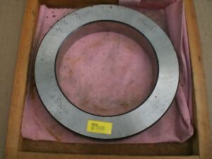 Bowers 4 500 Bore Gage Setting Ring With Wood Storage Case