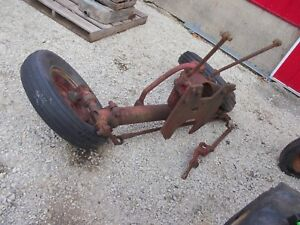 Farmall H M Tractor Factory Ih Wide Front End Widefront Hubs Rims Tires