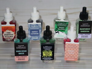 BATH amp; BODY WORKS WALLFLOWERS HOME FRAGRANCE REFILL *SINGLE OR TWO PACK* CHOOSE $7.95