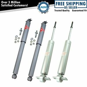 Kyb Gas A Just Kg5507 Kg4515 Front Rear Shock Absorber Kit Set Of 4 For Gm New
