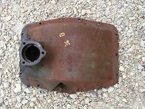 1936 Unstyled John Deere B Tractor Jd Main Rear Transmission Housing Cover