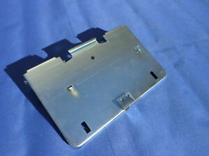 New 1959 60 Chevrolet Chevy Impala Belair Rear License Plate Holder Gas Door