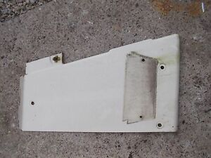 International 504 Utility Tractor Ih Ihc Front Left Radiator Side Cover Panel