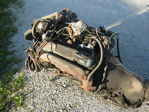 400 Mopar Ci Big Block Chrysler Complete Engine Motor Stored Indoors 440 383