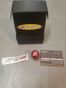 Skunk2 Racing Weighted Shift Knob 5 Speed Red Universal