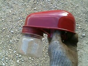 Farmall M Sm Mta Mv 450 400 Tractor Ih Oil Bath R Precleaner Topper W Glass Jar