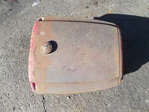Massey Harris 33 Tractor Good Working Original Mh Gas Tank Cap Dent Free