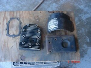 Vintage Briggs Stratton 8 9 Hp Engine 23a 23 Head Id Plate Guard Parts Lot