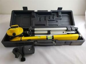 Rotating Swivel Laser Level Tool With Tripod Stand Surveying Leveling Laser