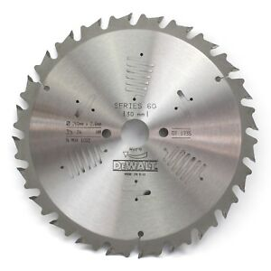 Dewalt Dt1735 Series 60 260mm X 30mm 24t Tct Circular Saw Blade For Wood Pos 10