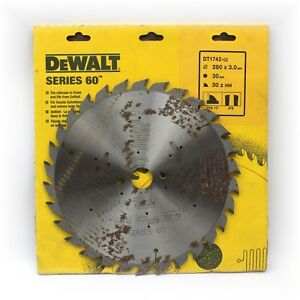 Dewalt Dt1742 Series 60 280mm X 30mm 30t Tct Circular Saw Blade For Wood Rusty