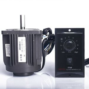 Optical Axis Deceleration Geared Ac Motor 1250rpm With Speed Controller 220v 25w