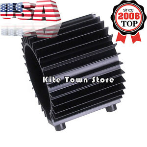 Aluminum Engine Oil Filter Cooler Heat Sink Cover Cap Billet Kit For Ef Eg Usa