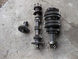 Massey Harris 33 Tractor Mh Transmission Lower Top Rev Drive Gears Shafts