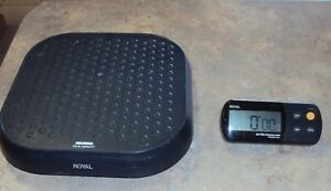 Royal Ex315w Industrial Wireless Heavy duty Shipping Scale 315lbs Max No Battery