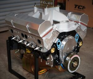 Sbc Chevy 434 Pro Street Motor Afr Heads Crate Motor 655 Hp Base Engine