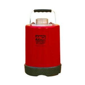 Multiquip St2037 2 Impeller Disc electric Submersible Pump 1hp 120v max 37