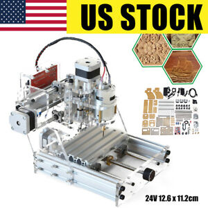 Usa Cnc 3 Axis Engraver Machine Milling Wood Carving Diy Mini Engraving Machine