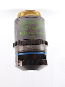 Olympus Lcplanfl 60x Ph2 Phase Contrast Objective For Bx Ix Cx Microscoscope