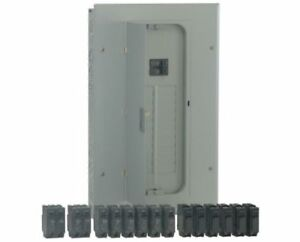 Ge 100 amp 20 circuit Flush surface Wall Main breaker box Load Electrical Panel