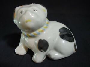 Seto Suiteki Dog Water Dropper Pot Porcelain Painted Japanese Antique