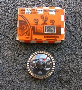 Dash Therometer Vintage German Car Accessory Perohaus Ghe Mercedes Mb Vw Bug Nos