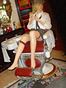 Vintage Mannequin Full Size Seated