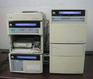 Hitachi Hplc System D 7000 Interface L 7100 L 7200 Pump L 7485 Detector L 7455