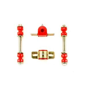 Red Poly Sway Bar Link Bushing Set Fits 1968 1970 Chevrolet Chevelle El Camino