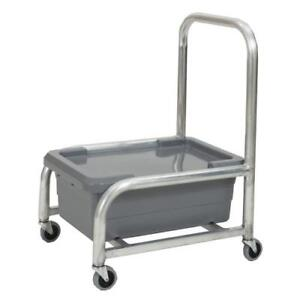 Robot Coupe R198 Food Tray Cart Pan Lid Included