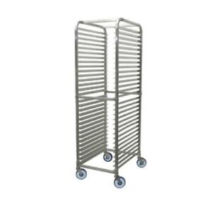 Winco Alrk 30bk Sheet Pan Rack Mobile casters 2 With Brakes Aluminum Kd