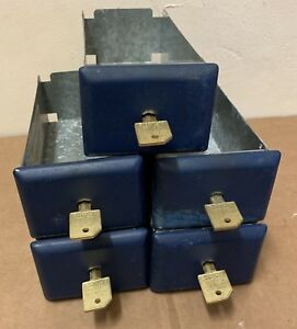 Esd 8 Coin Laundry Box Lot Of 5 W Keys C21883 Whirlpool Maytag Washer Dryer
