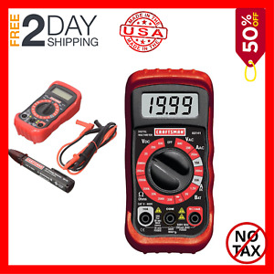 New Craftsman Digital Multimeter With Ac Voltage Detector
