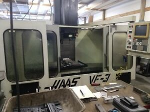 Used Haas Vf 3 Cnc Vertical Mill 1994 Cheap Vmc 4020