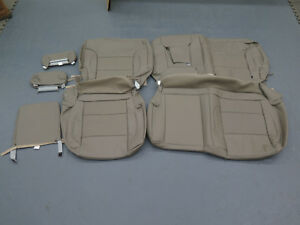 2014 2015 2016 2017 Silverado Sierra Crew Rear Katzkin Leather Seat Cover Set