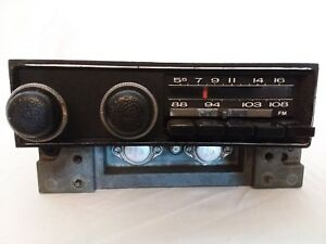 1971 1972 Polara Fury Fm Am Radio Mopar C Body Dodge Plymouth Chrysler 71 Stereo