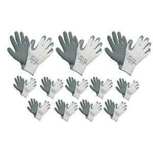Showa Atlas 451 Gray Thermal Work Gloves Small 12 Pair