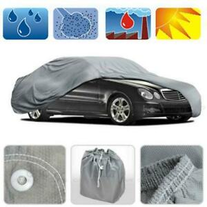 Waterproof Uv Snow Full Car Cover Sun Rain Resistant Protection M Size