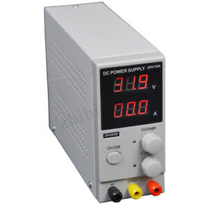 Dc Power Supply Variable Adjustable Lab 30v 10a Lcd Digital Switching Regulated