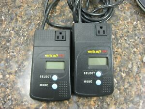 Lot 2 Watts Up Pro Es Power Meters Nice Condition