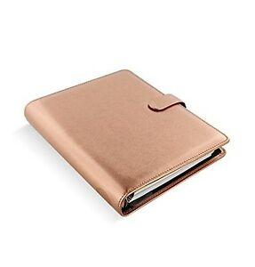 Filofax Saffiano Pu leather Organizer Agenda Weekly Planner Refillable Calend
